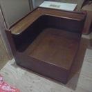 カリモクコーナーテーブル(中古品)