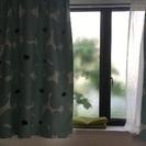 カーテン 遮光 レース セット幅100cm x 丈135cm