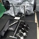ダンベル・バーベルベンチ・腹筋台 プレート合計111kg まとめて