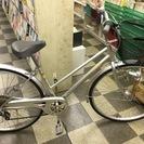 [3143]中古自転車 リサイクル自転車 シティサイクル 27イン...