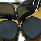 回転椅子二台
