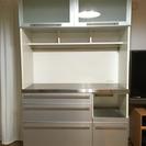 無料 食器棚 シンプル ステンレス アルミ