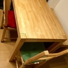 ☆IKEA ダイニングテーブル/椅子/長椅子 2年使用☆