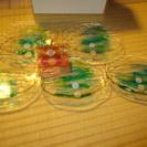 琉球ガラス 小皿5枚セット