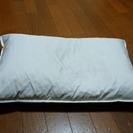 数回使用 フェザー100% ニトリ 枕