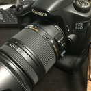 Canon EOS 60D(バッテリーグリップ付) と SIGMA...