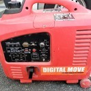 インバーター 発電機 エンジン式 2000W デジタルムーヴ 動作品