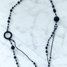 黒 ネックレス