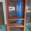 木製可動棚付什器