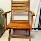 折りたたみ 木の椅子