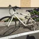 21段変速クロスバイク ホワイト