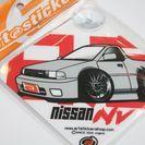 吸盤タイプ ウインドウサイン NISSAN NV グレー