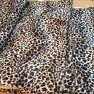 ヒョウ柄の布(140x100)x3枚