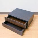 木製 レターケース・小物入れ 2段
