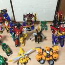 ヒーロー戦隊ロボットSET!まとめ売り(早い者勝ち)