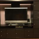 IKEAのテレビボード & テレビ