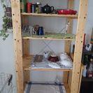 IKEA 無垢材 オープンラック