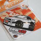 吸盤タイプ ウインドウサイン BMW 3シリーズ (E30) ホワイト