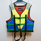子供用 ライフジャケット 美品(水中未使用) 水辺のレジャー、プールに!