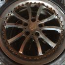 225/40ZR18のタイヤ2本