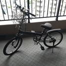 使用頻度底 折りたたみ自転車 ブラック