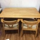 食卓+椅子4脚