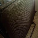 【美品】折りたたみ式ベッド セミダブル