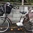 【値下げしました】★アンジェリーノ26型 電動子供乗せ自転車 3人対応★