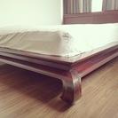 インドネシア産 ベッドフレーム