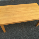 木製のローテーブル 座卓