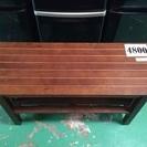 【家具】 ベンチ風 ローテーブル テレビ台 木材 棚