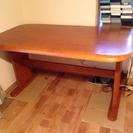 食卓のテーブル 子供の机代用にもOK
