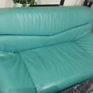中古◆グリーンのソファー