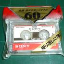 【未使用?】SONY マイクロカセットテープ 60分