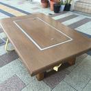 鉄板付きテーブル