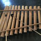 バリの木琴 竹製 涼やかな音色