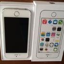 iPhone5sシルバー美品16GB