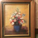 絵画(花瓶の花)