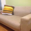 IKEA 2人掛布ソファー