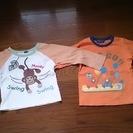 サイズ95長袖シャツ2枚