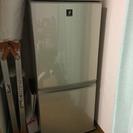 シャープ冷蔵庫 137L (SJ-PD14T)