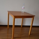 パインダイニングテーブル73cm幅ブラウン(RQ-73BR)