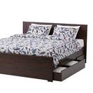 IKEA ダブルベッド (フレームのみ)