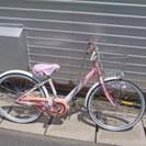 22インチ 女児用自転車