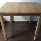 無印木製テーブル