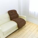 革ソファ、車シートや座椅子に。温 毛布クッション