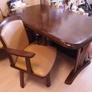 【終了】 テーブル 椅子 セットでお引き取りいただける方