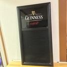 ギネスビール メニューボード(黒板)