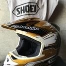 ゴーグル付き‼️   SHOEI モトクロスヘルメット