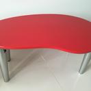 赤 テーブル